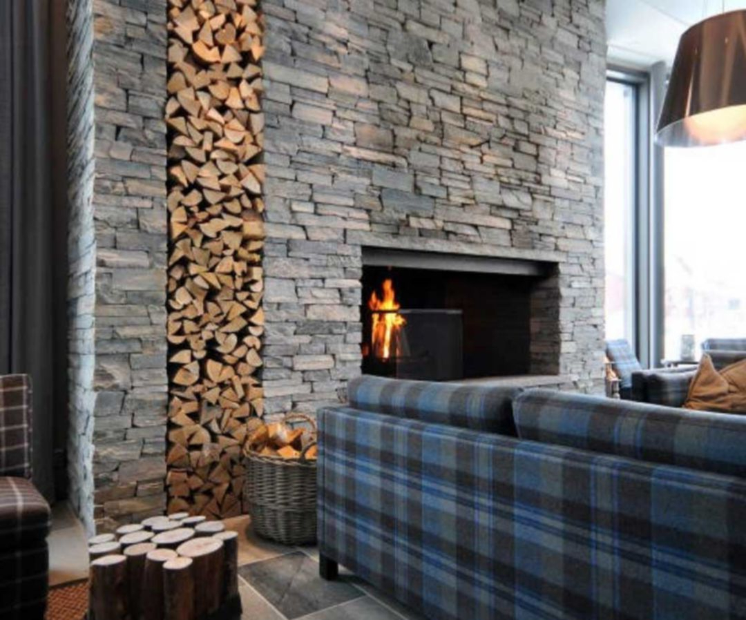 Best 25 Amazing Rock Wall Design Interior Ideas With