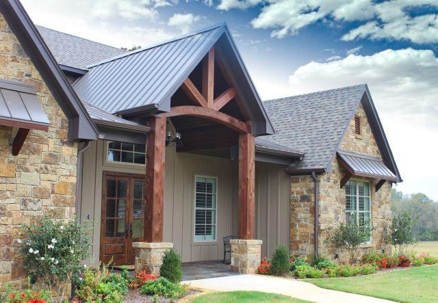 Best 25 Stone Exterior Houses Ideas On Pinterest Diy