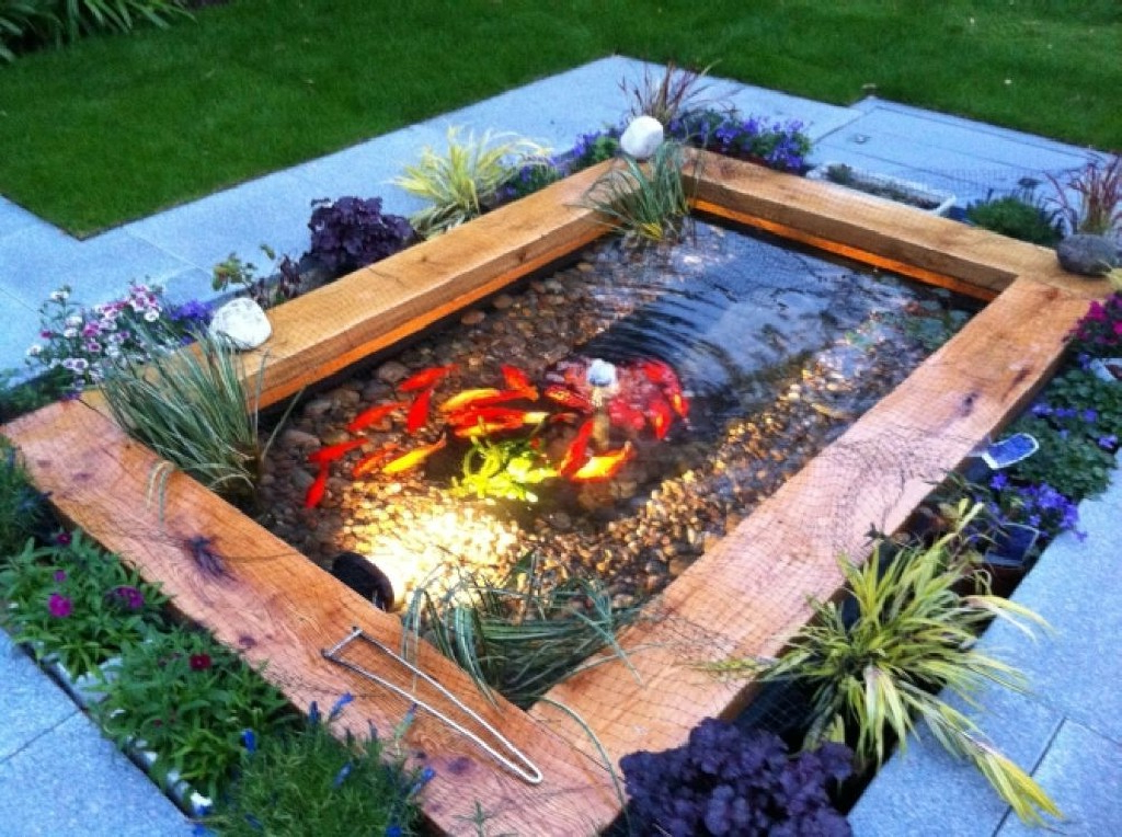 Best Beautiful Small Koi Pond Ideas 21 Awesome Indoor