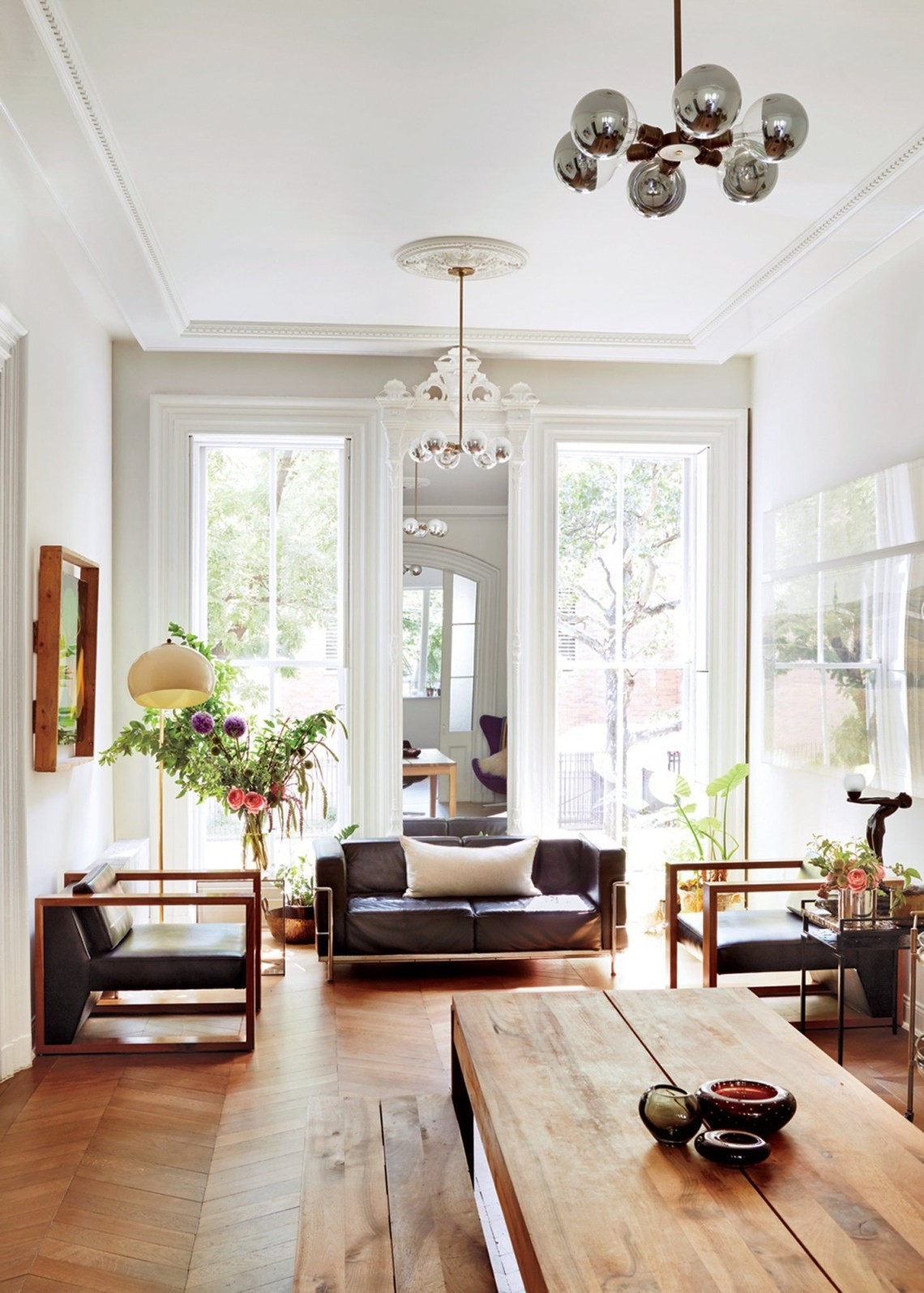 Best Living Rooms In Voguephotos Brownstone Interiors