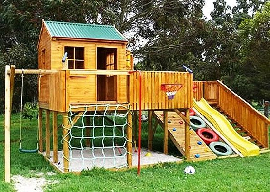 Best Tree House Ever Play Area Backyard Backyard