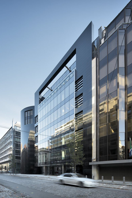 Black Pearl Office Building Brussels 2014 Art Build