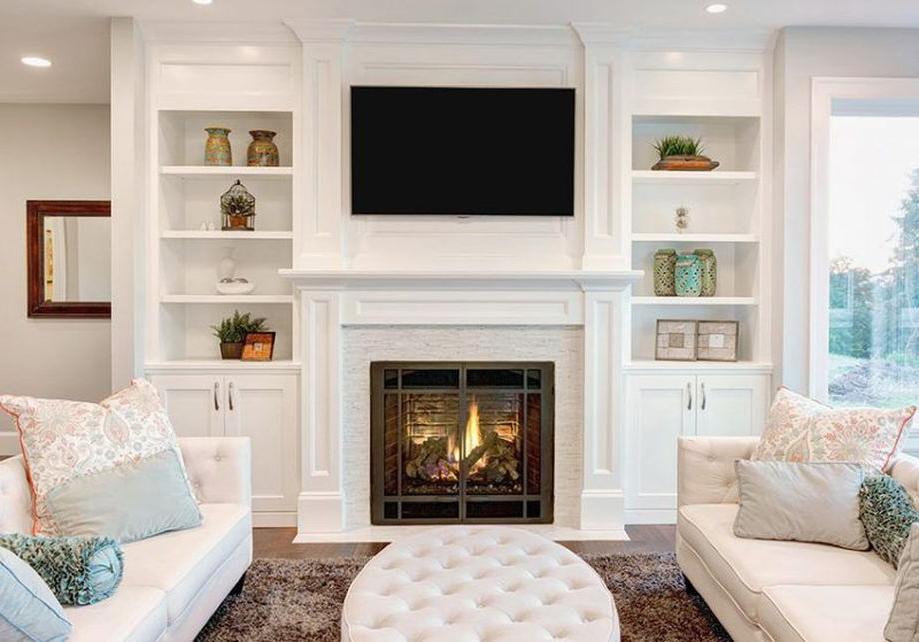 Brilliant Built In Shelves Ideas For Living Room 14