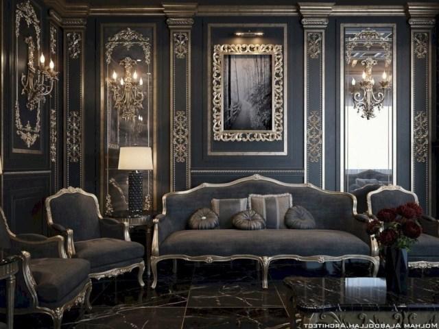 Captivating Goth Living Room Ideas For Inspiration 27