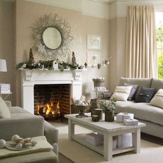 Christmas Living Room Decorating Ideas To Get You In The