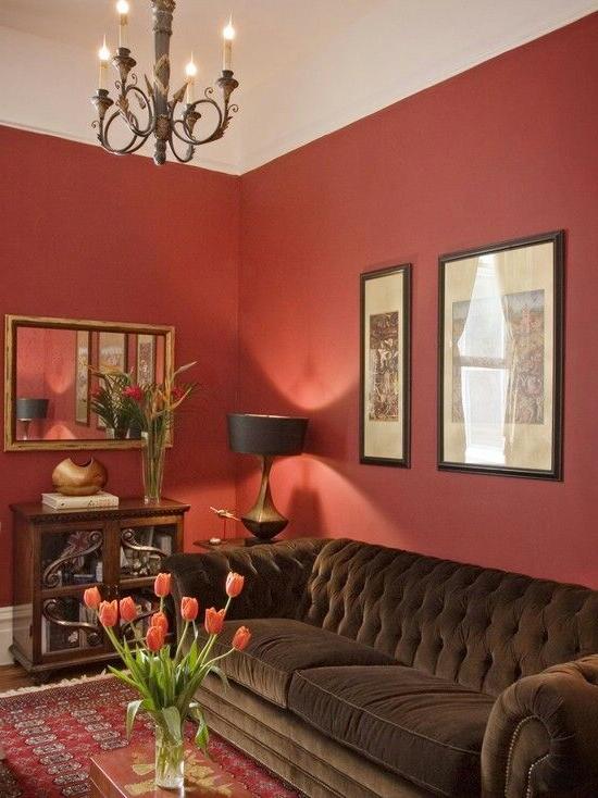Color De Paredes Para Un Ambiente Clido Pintar La Sala