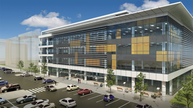 Commercial Office Building Prototype S2 Architecture
