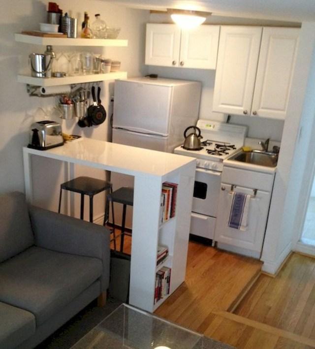 Cool 33 Stylish And Cute Apartment Studio Decor Ideas