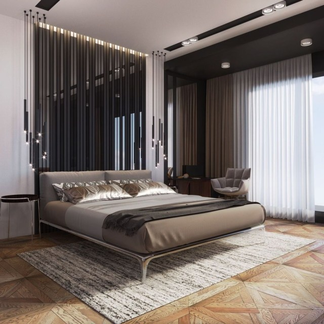 Cool 41 Lovely Contemporary Bedroom Designs For Your New