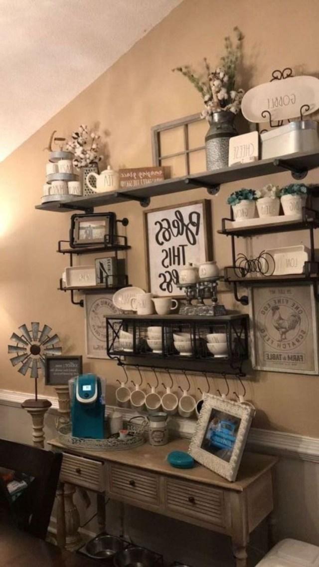 Cool 48 Easy Diy Farmhouse Living Room Wall Decor Ideas