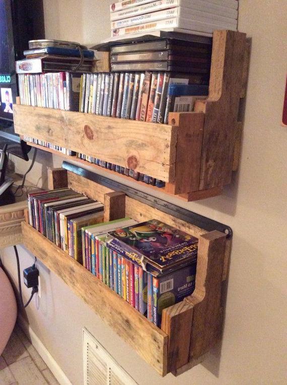 Cool Unique Diy Dvd Storage Ideas For Small Spaces Diy