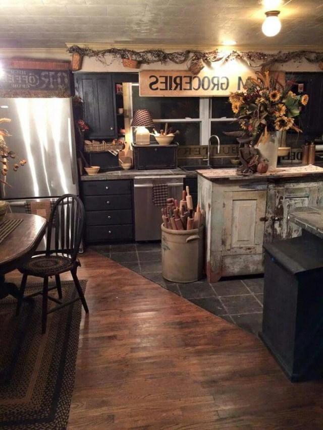 Cozy Kitchen Rustic Kitchen Country Kitchen Decor