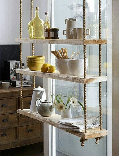 Current Obsessions Metro Bound Rope Shelves Shelves