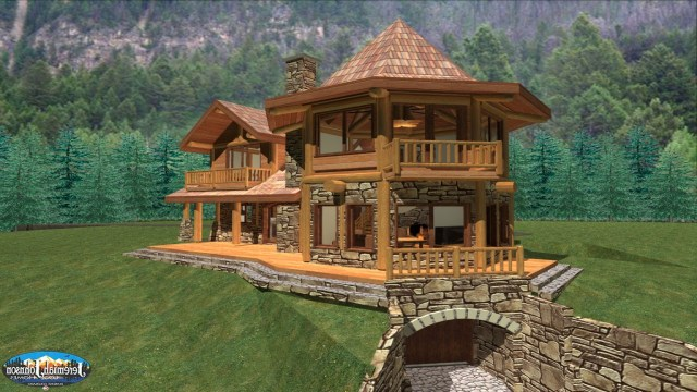 Custom Log Cabin Homes Colorado Huge Log Homes Log Home