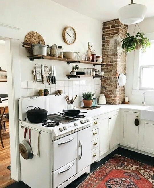 Cute And Cozy Kitchen Cottage Kitchen Design Kitchen