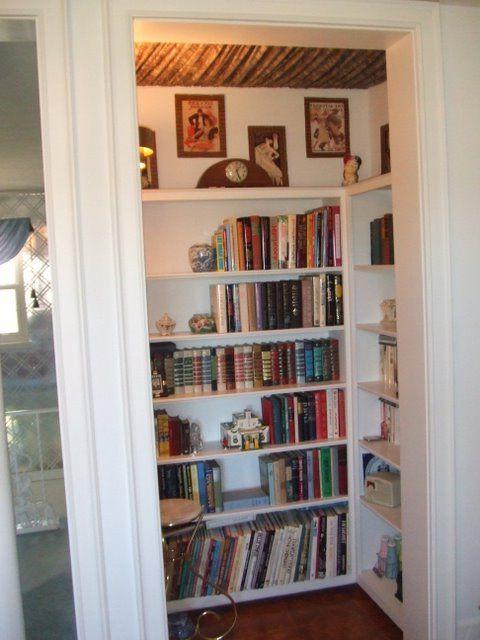 Cutebook Closet Closet Library Home Remodel Bedroom