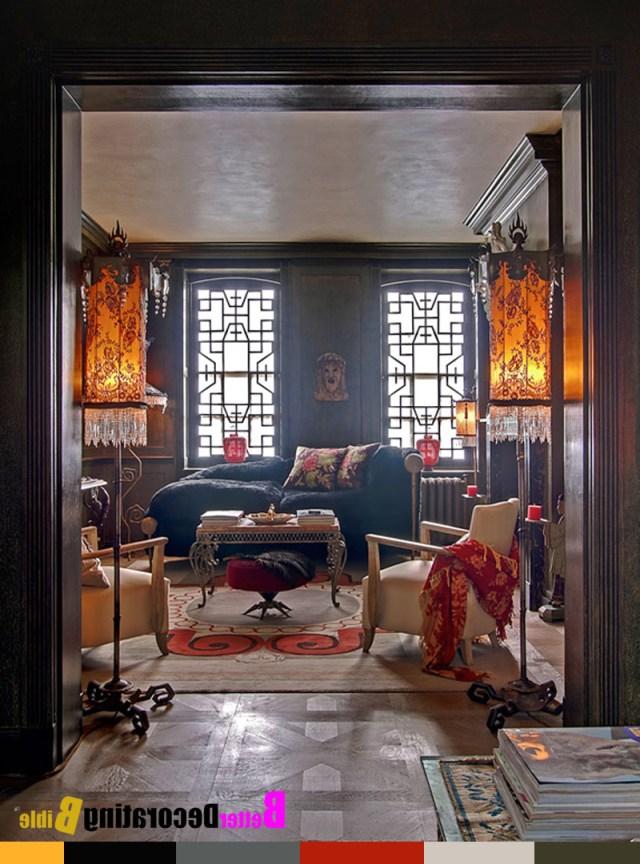 Decor Boho Chic 40 Wink Gypsy Style Living Room