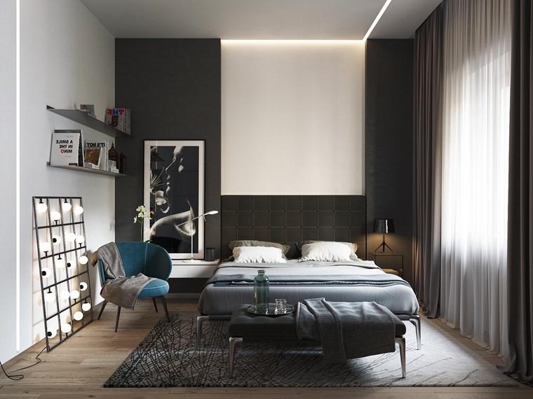 Decorar Dormitorio En Blanco Y Negro Muy Elegante