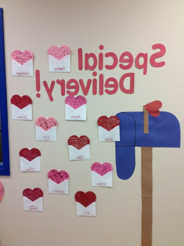 Decorating The Classroom Wall For Valentines Valentines