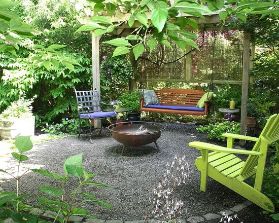Design Decorating Backyard Makeover Eclectic Patio