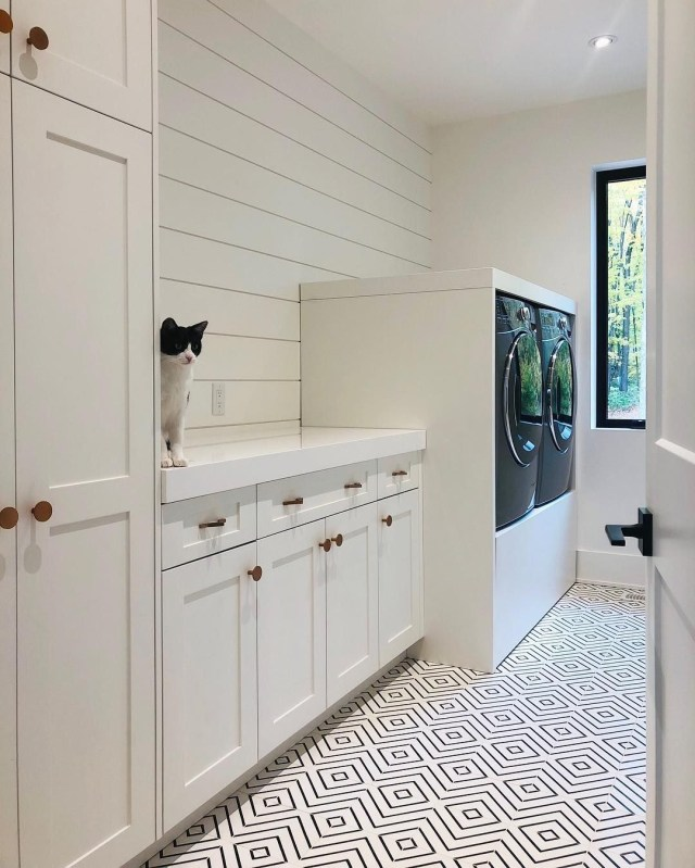 Designing A Laundry Room That Was Not Only Functional But