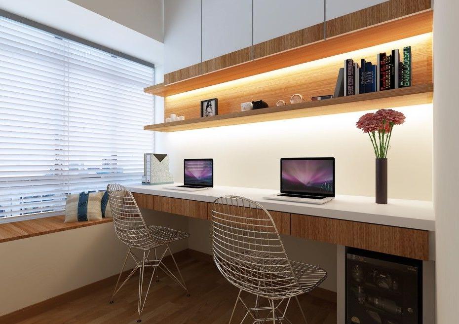 Desk Chairs Modern Minimalist Home Study Small Work Desk