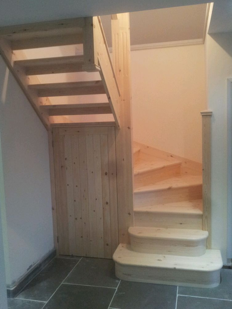 Details About 6 Winder Staircase Made To Measure In Pine