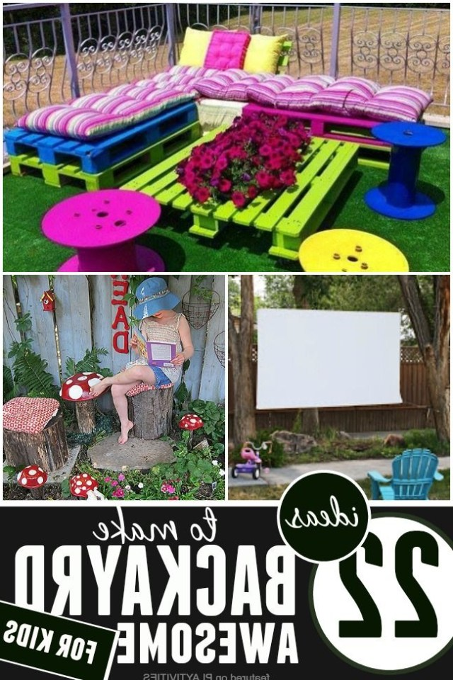 Diy Backyard Ideas For Kids Kids Backyard Playground