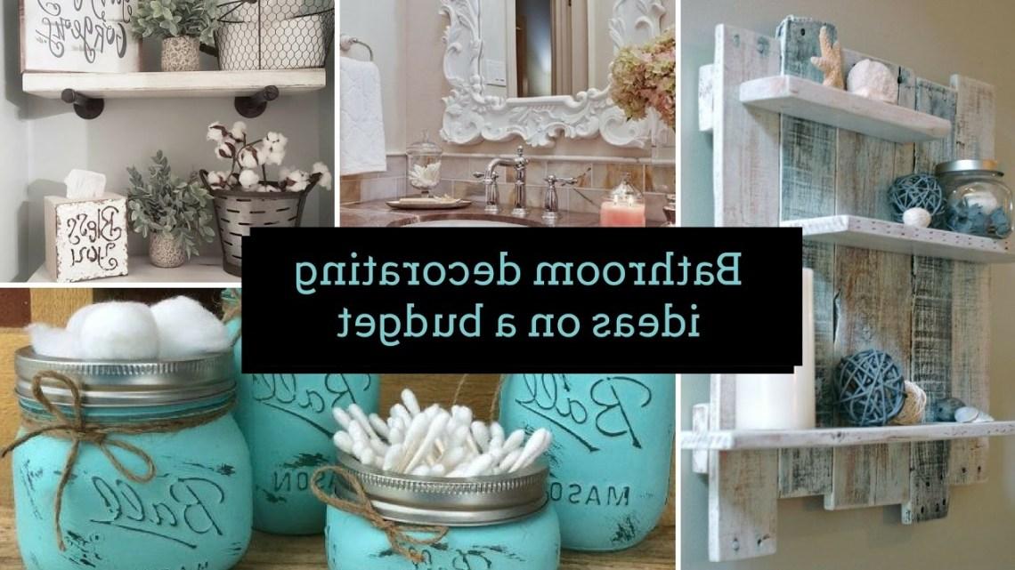 Diy Bathroom Decorating Ideas On A Budget Home Decor