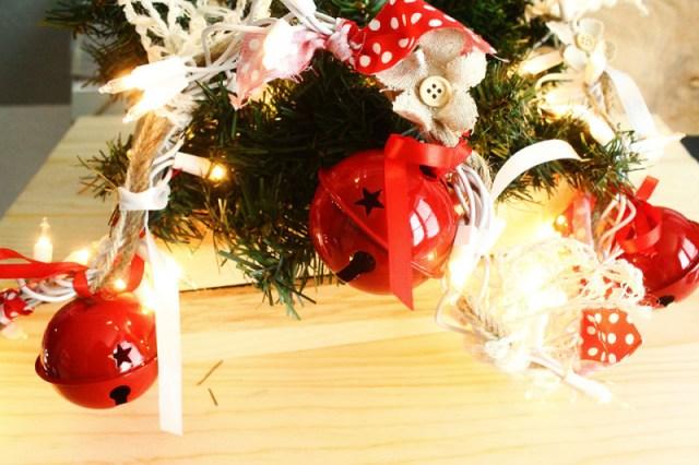 Diy Christmas Garland Jingle Bell Crafts Unleashed