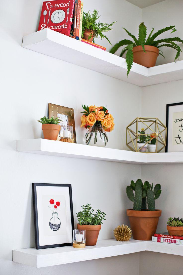 Diy Floating Corner Shelves Floating Shelves Diy