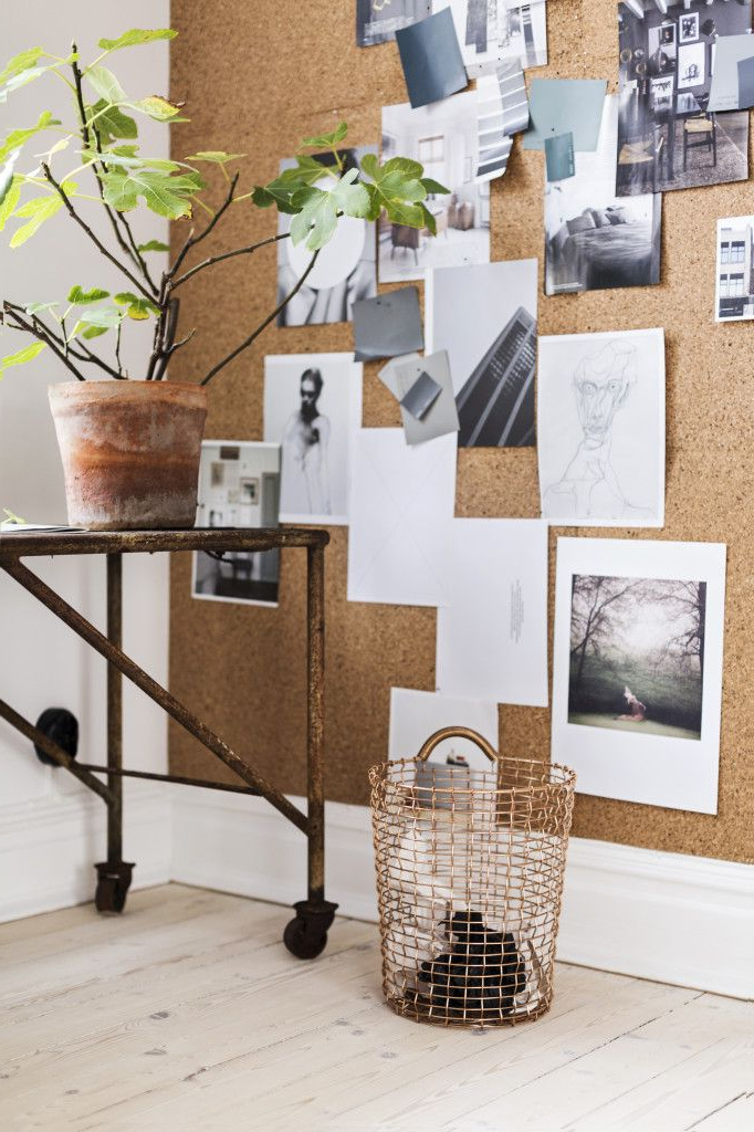Diy Inspiration Cover Entire Wall With Cork In The Home