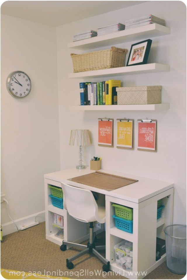 Diy Office On A Budget Living Well Spending Less
