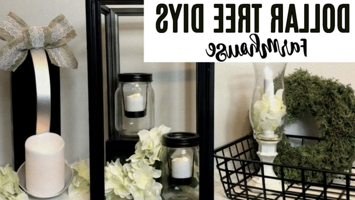Dollar Tree Farmhouse Diys Three Easy Ideas Chic On