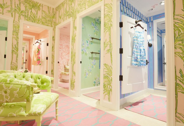 Dressing Rooms At Lilly Pulitzer Riverside Girls