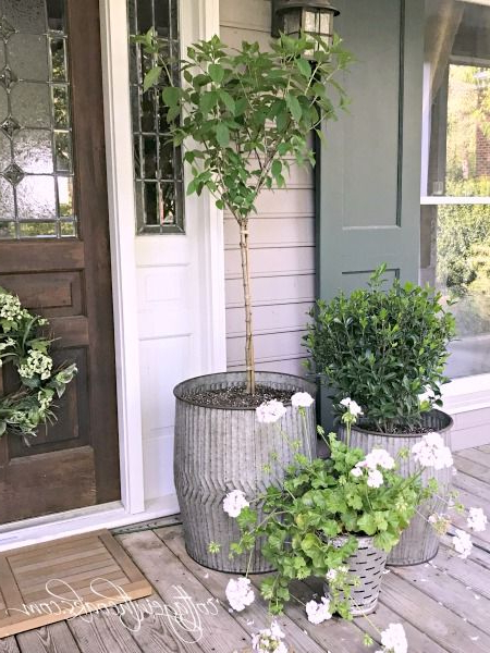 Easy And Beautiful Container Garden Ideas For Your Porch