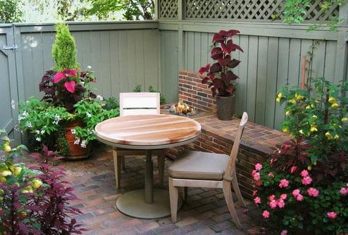 Easy Tips To Create Beautiful Small Backyard Patio Ideas
