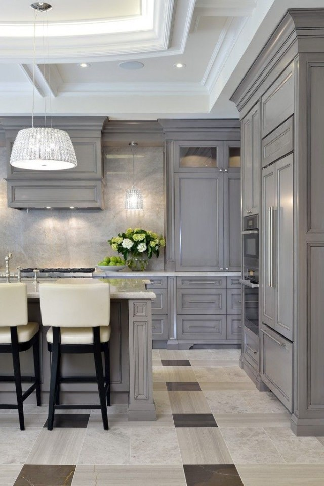 Elegant Home Interior With Incredible Custom Crown Molding
