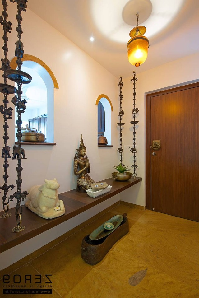 Entrance Area Country Style Living Room Zero9 Country Indian Home Interior Indian Interior