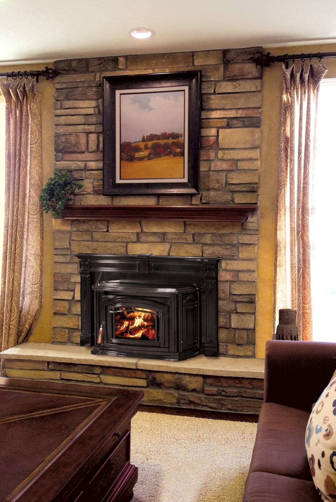 Enviro Boston 1200 Wood Fireplace Insert Wood