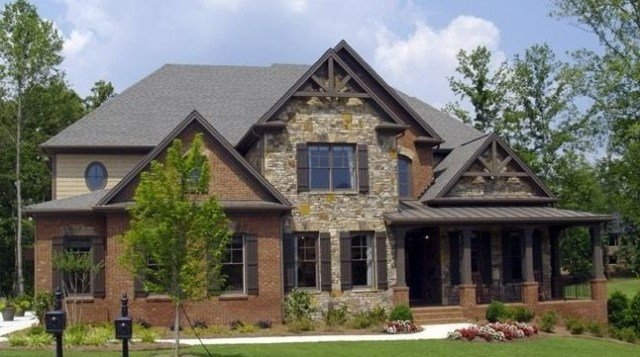 Ext Colors Craftsman House Stone Exterior Houses