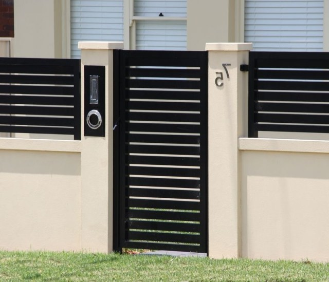 Exterior Boundary Wall Designs Google Search Metal