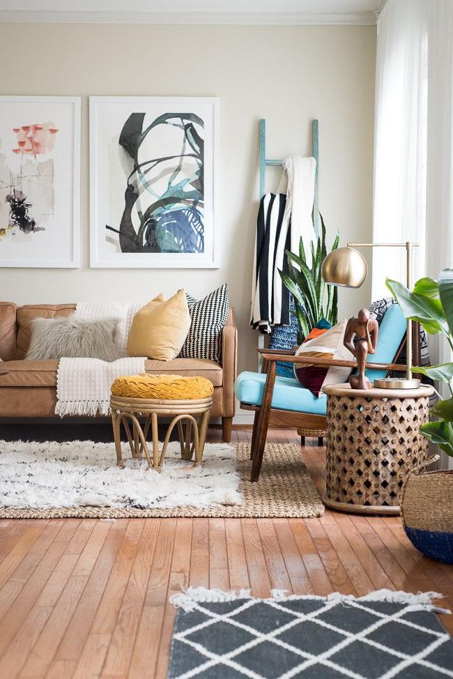 Fall Home Tour 2016 Eclectic Living Room Boho Living