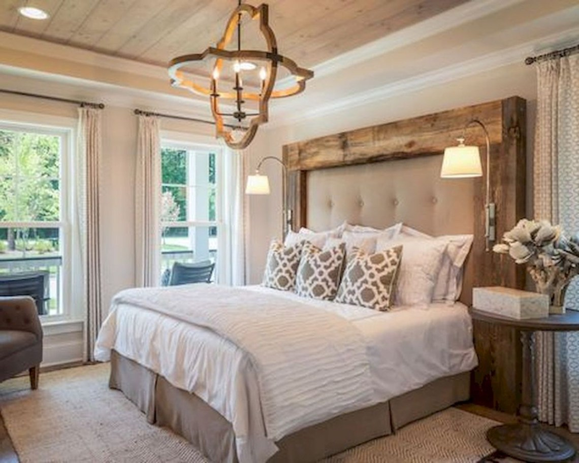 Farmhouse Style Master Bedroom Ideas 35 Modern