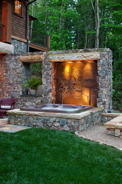Fire Pit Hot Tub Or Both Abode