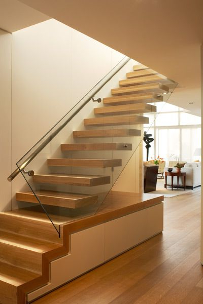 Floating Stair Powell And Bonnell Interesing Concept