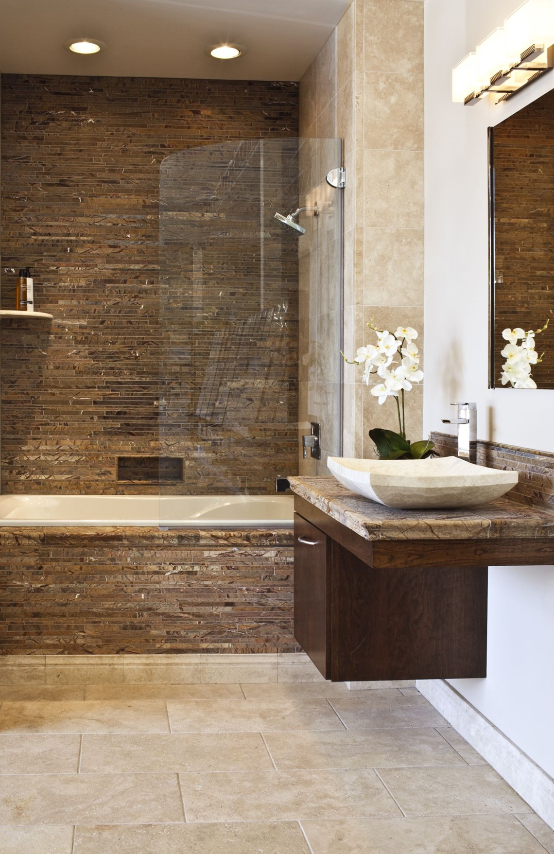 Forest Brown Marble Bathroom Brown Bathroom Basement Bathroom Mold In Bathroom