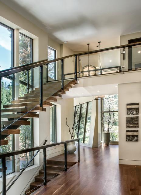 Freeman Residence Contemporary Staircase Salt Lake