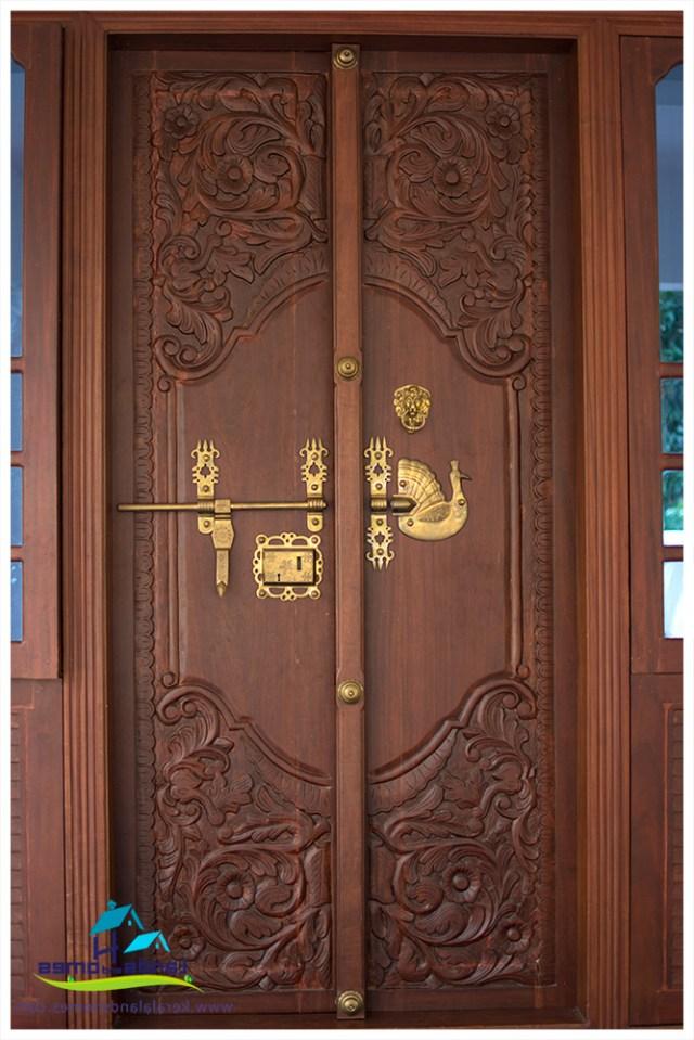 Front Door Designs Kerala Stylereal Estate Kerala Free