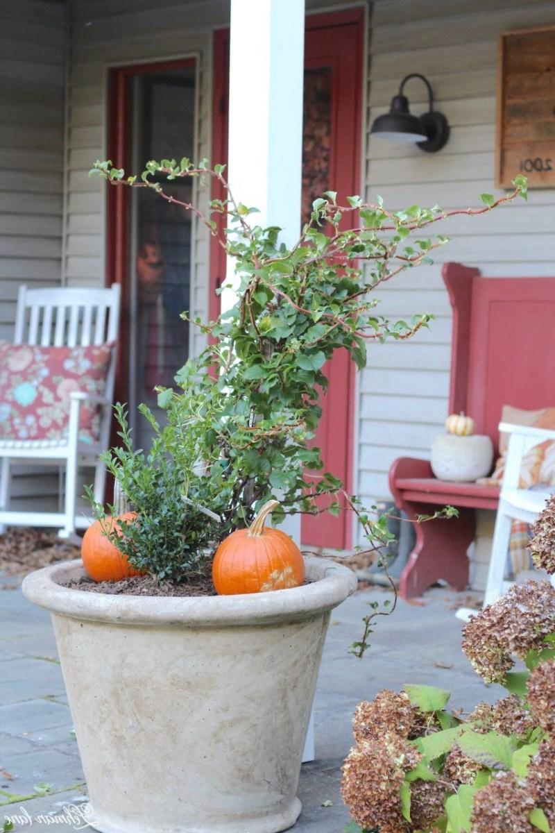 Front Porch Planters For Our Pergola Front Porch
